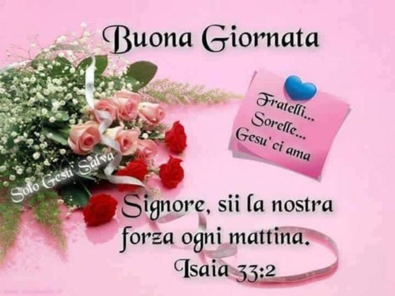 Popolare Buona Giornata con frasi del Vangelo - BuongiornoConGesu.it NH98