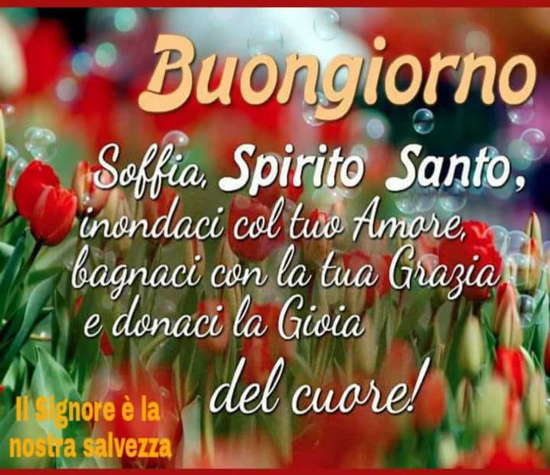 Buongiorno Spirito Santo Immagini Buongiornocongesu It
