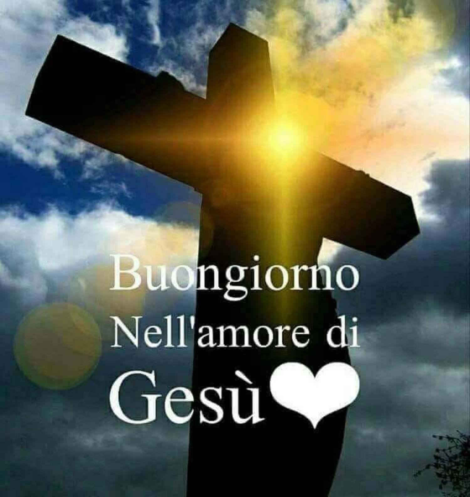 Buongiorno nell'amore di Gesù