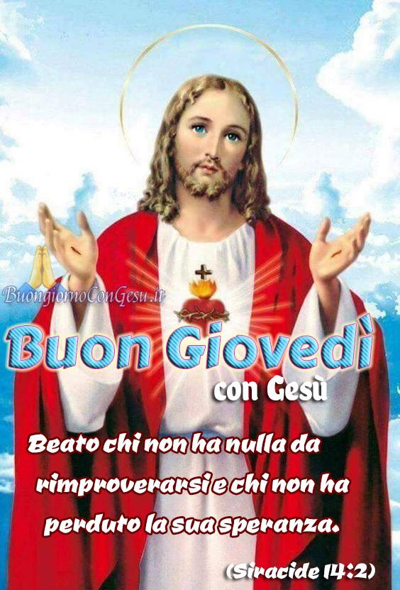 Buon Giovedì buongiorno immagini religiose