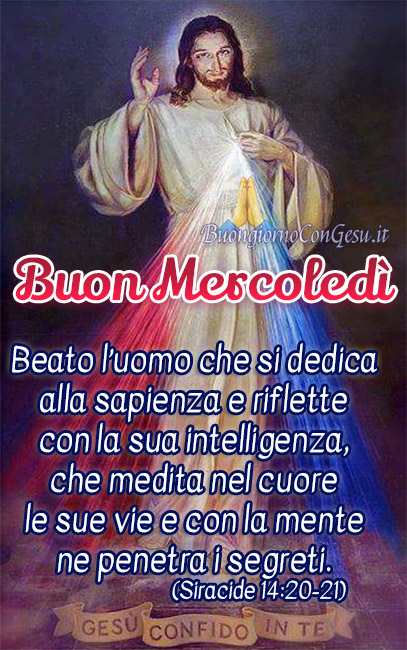Buon Mercoledì immagini nuove religiose