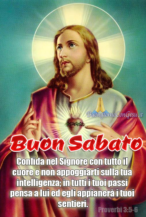 Buon Sabato buongiorno immagini religiose nuove