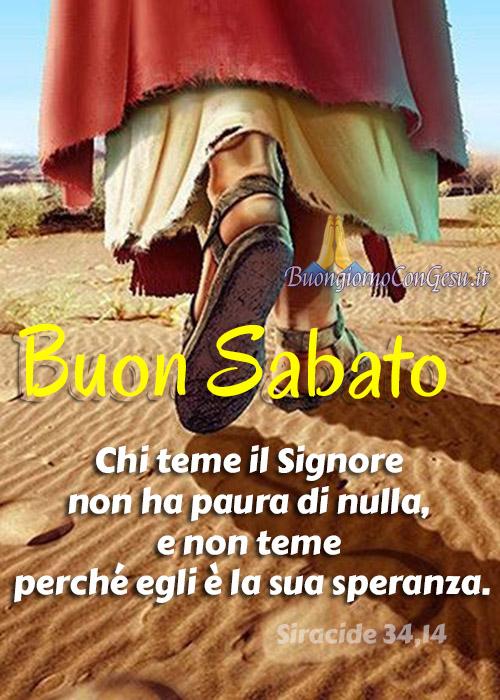 Buon Sabato immagini nuove con Gesù
