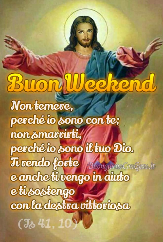 Buon Weekend con Gesù immagini WhatsApp