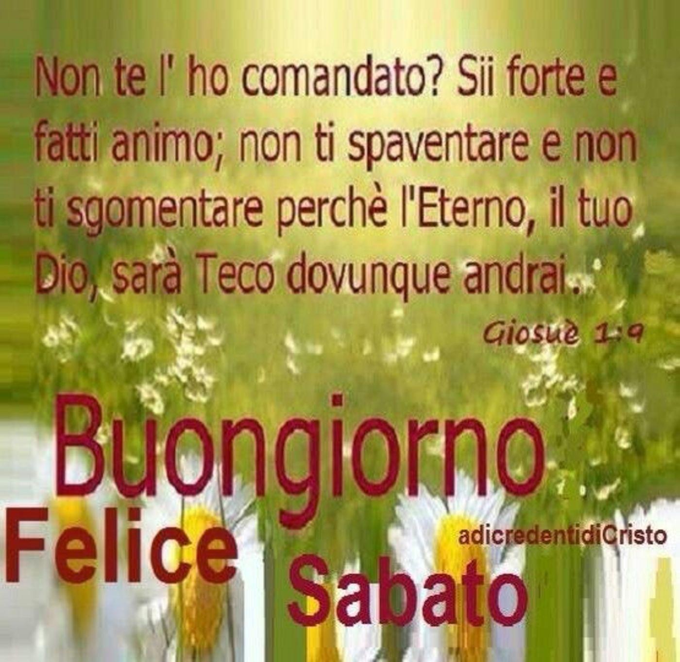 Buongiorno Felice Sabato Immagini Sacre Buongiornocongesuit