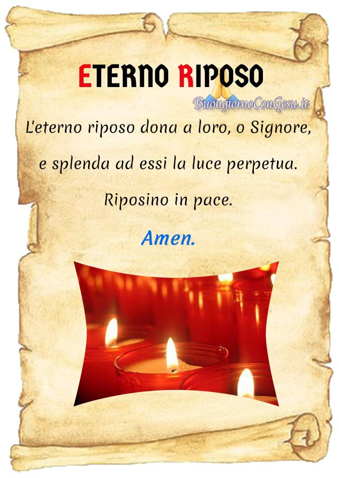 Eterno Riposo preghiere per i defunti immagini nuove