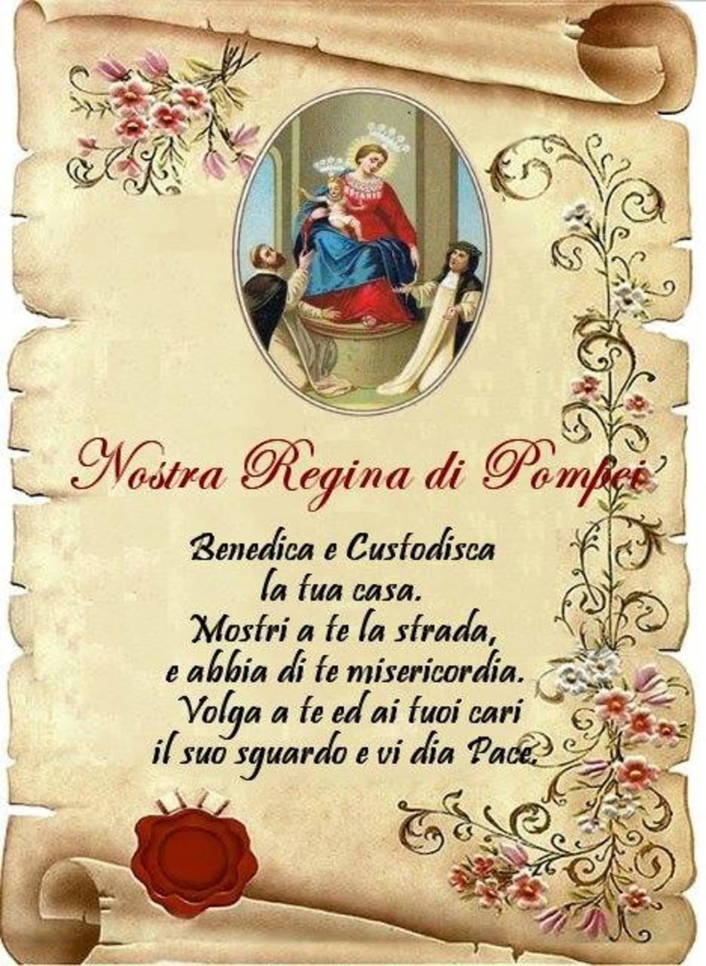 Nostra Regina di Pompei preghiere