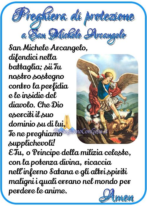 Preghiera di protezione a San Michele Arcangelo