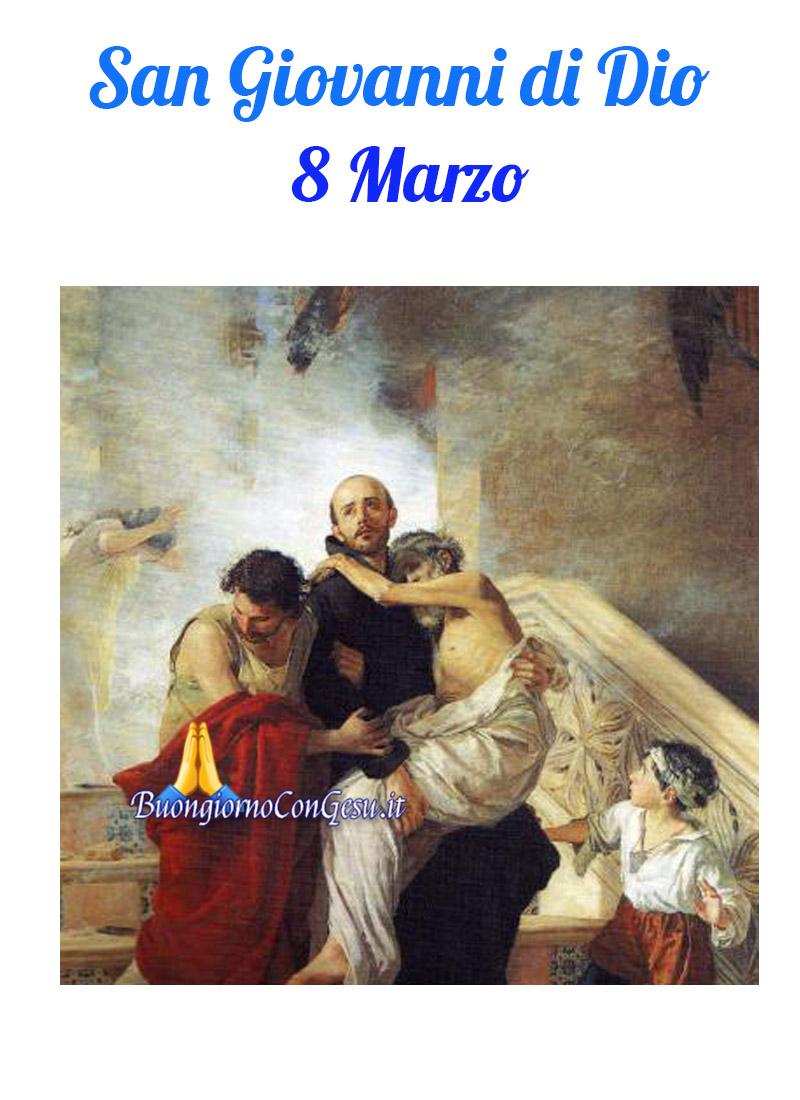 San Giovanni di Dio 8 Marzo immagini cristiane
