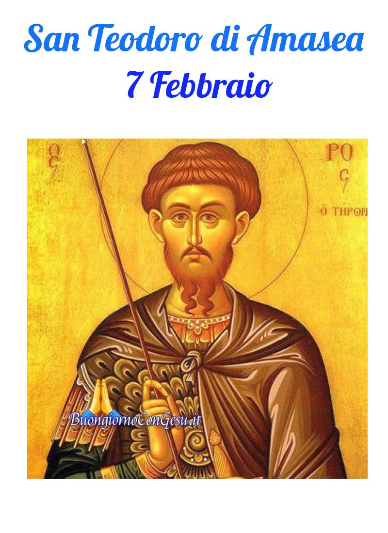 San Teodoro di Amasea 7 Febbraio immagini Facebook