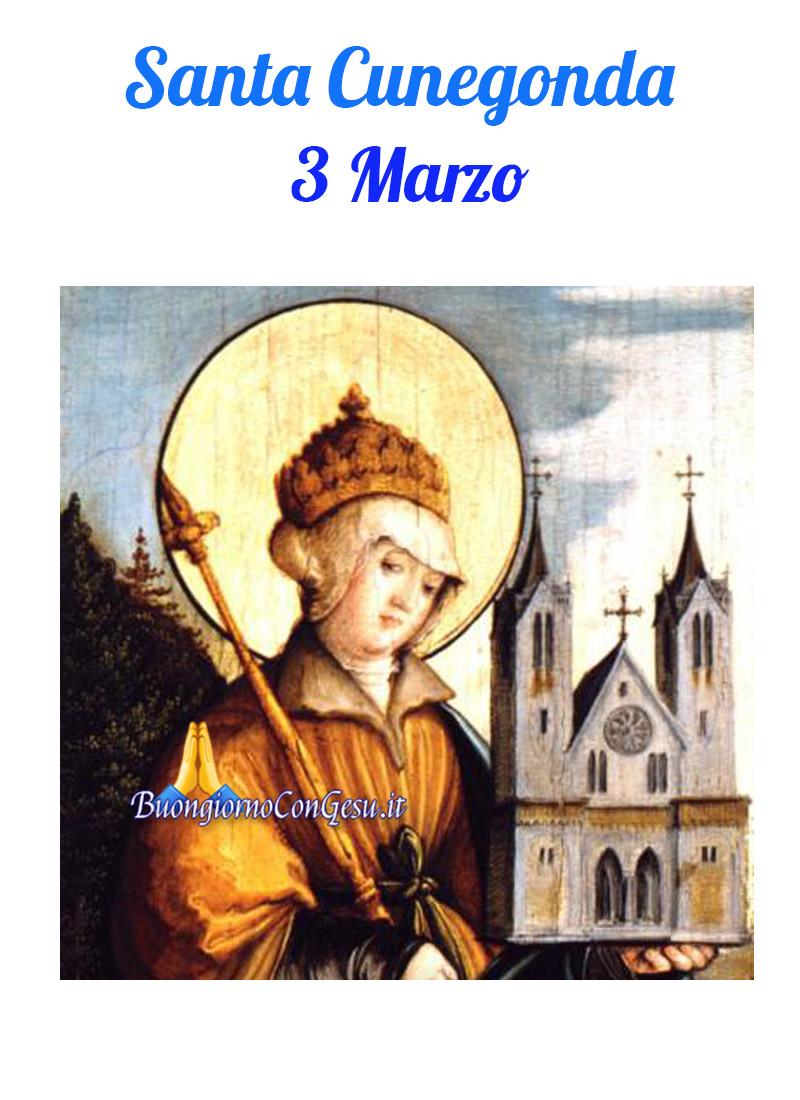 Santa Cunegonda 3 Marzo