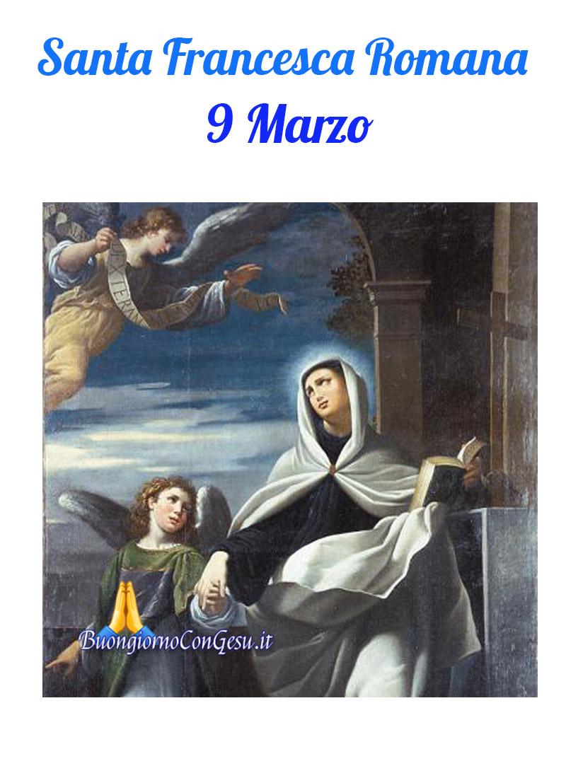 Santa Francesca Romana 9 Marzo