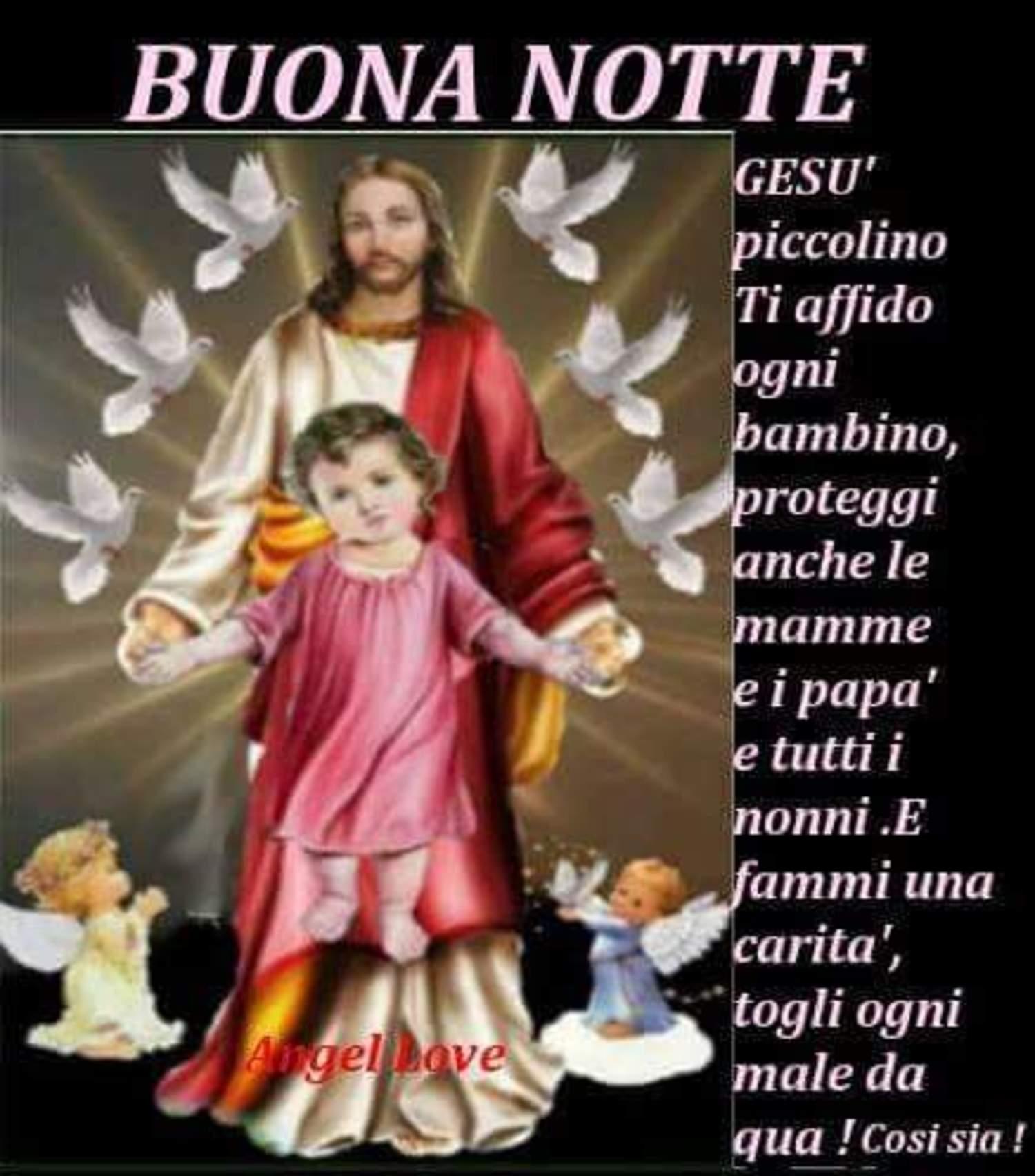 Buonanotte Con Gesù 6578 Buongiornocongesu It