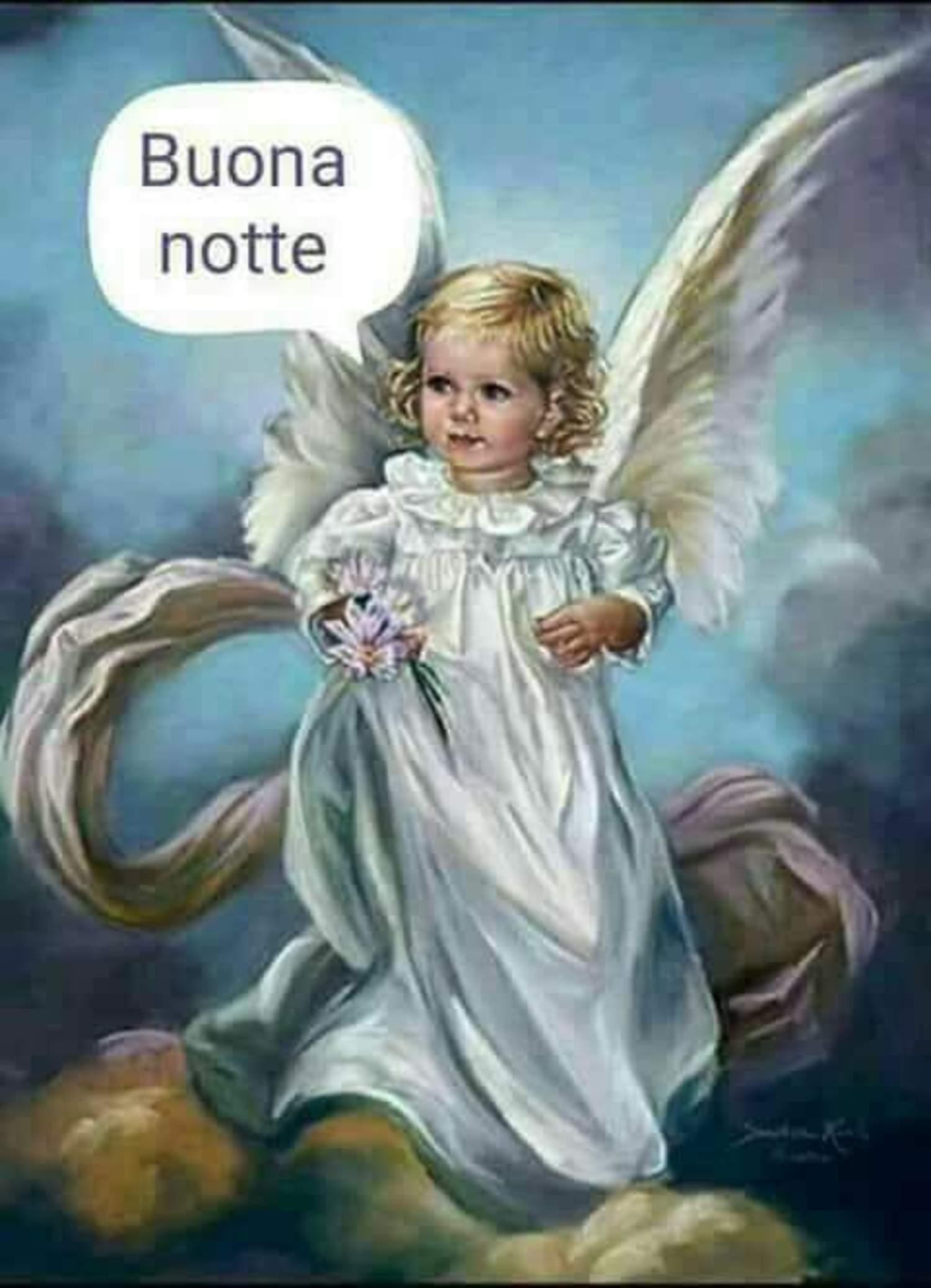 Buonanotte Con Gli Angeli Buongiornocongesu It