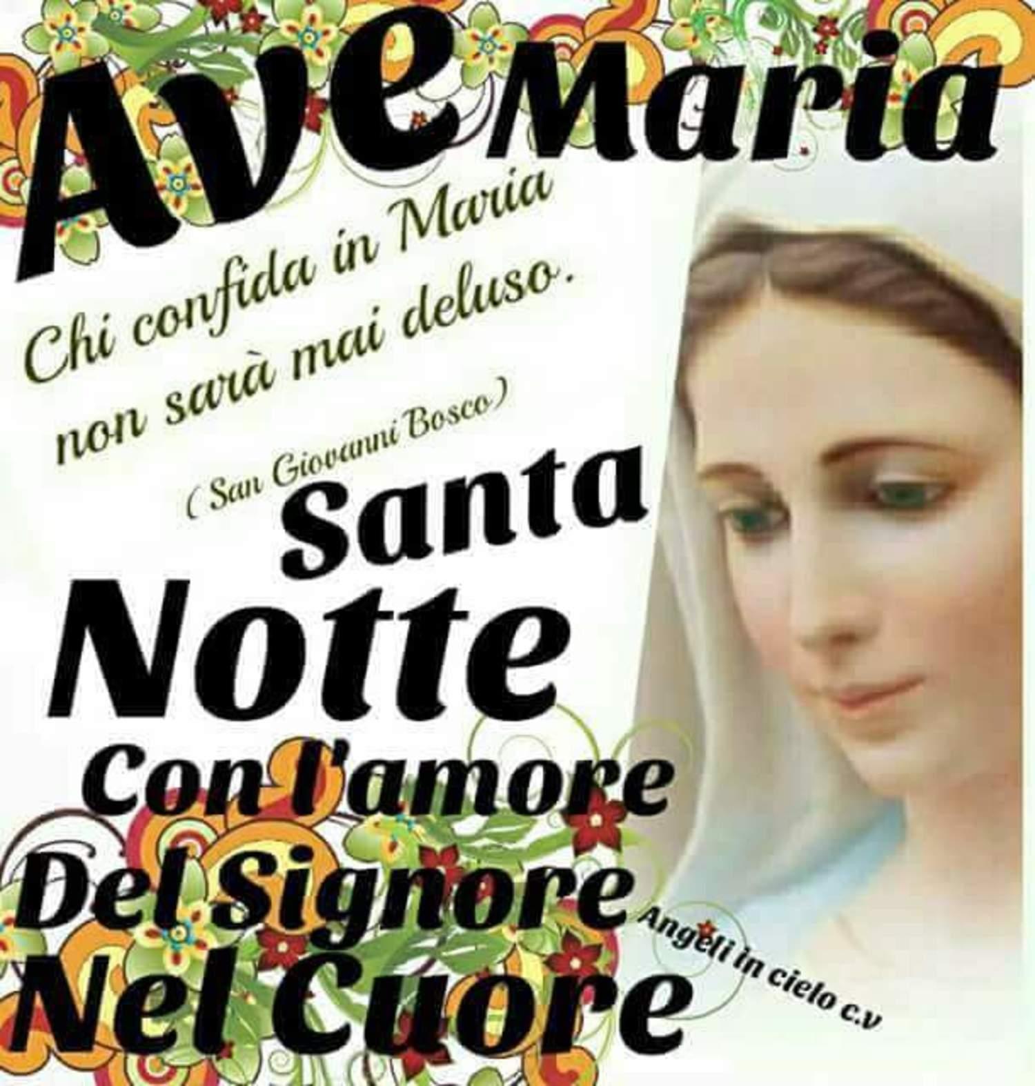 Buonanotte con la Vergine Maria 8143
