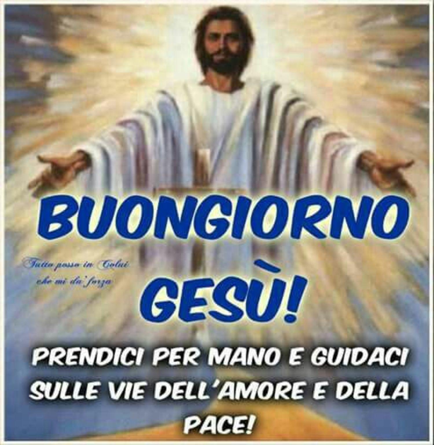 Buongiorno Gesù 3156