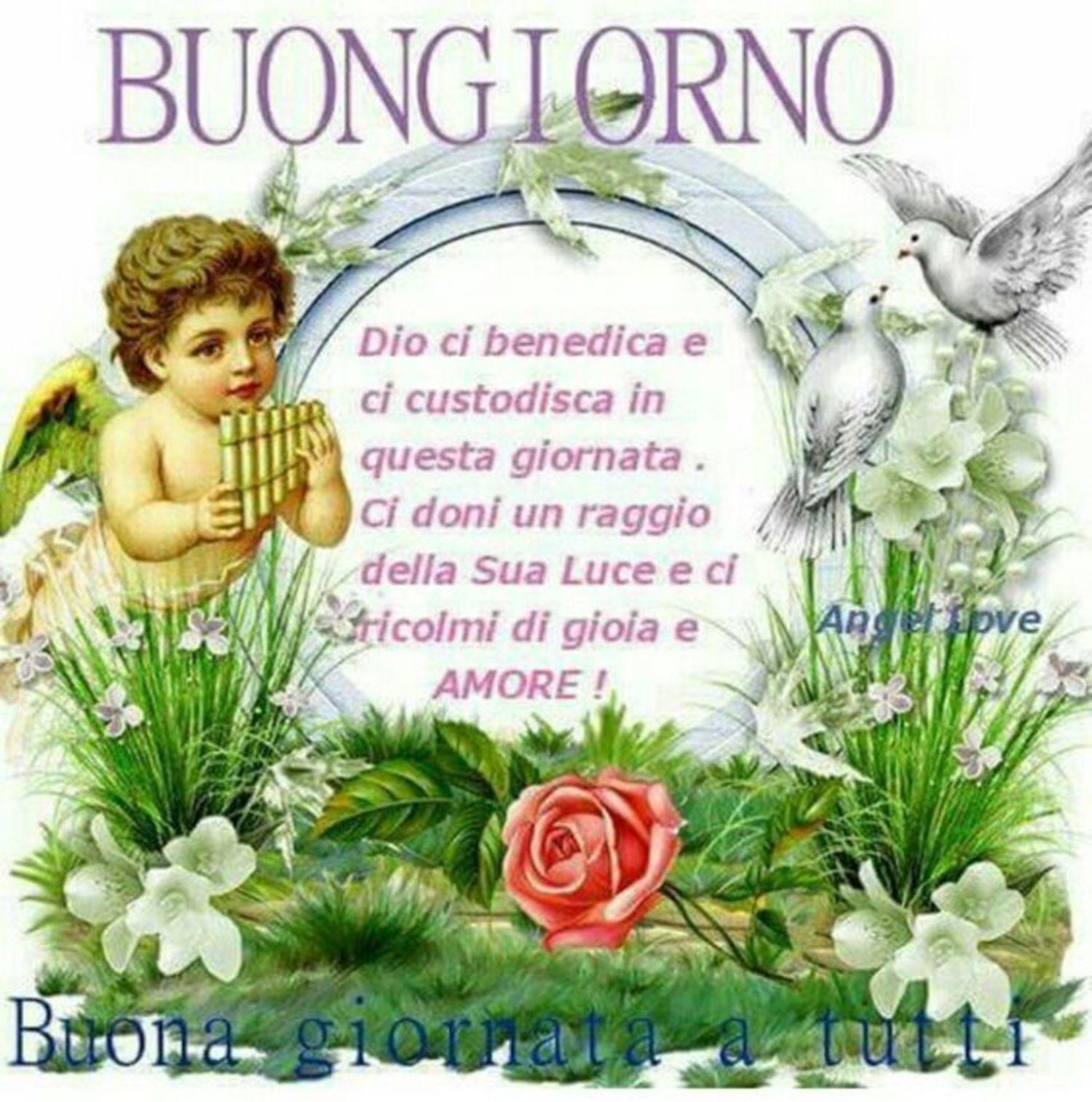 Buongiorno Speciale Con Gli Angeli 8025 Buongiornocongesu It