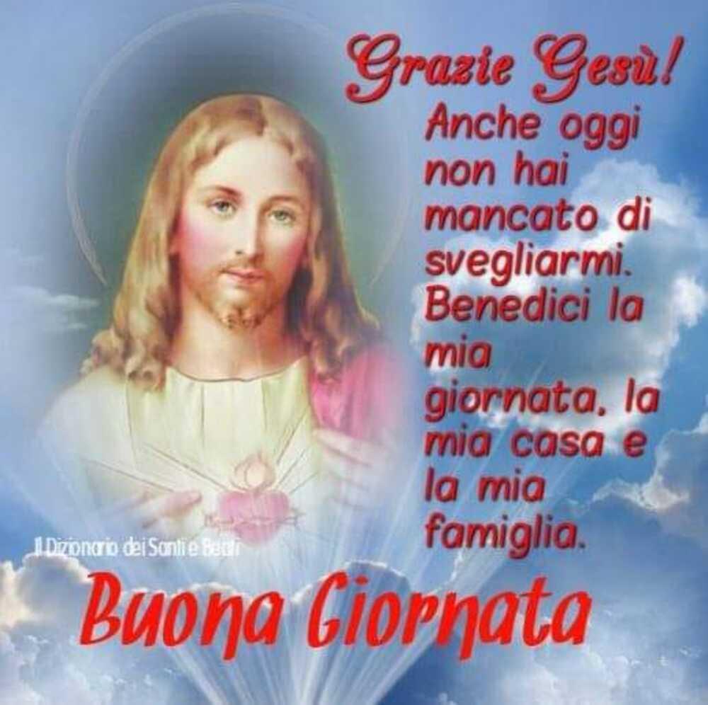 Buona Giornata con Gesù e icone sacre 1