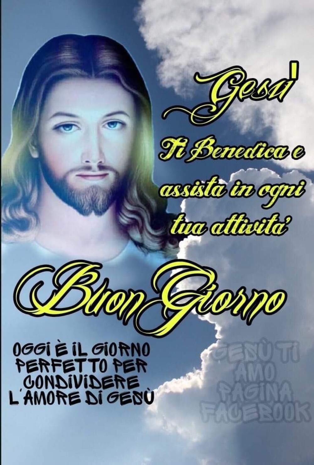 Buona Giornata con Gesù e icone sacre 3