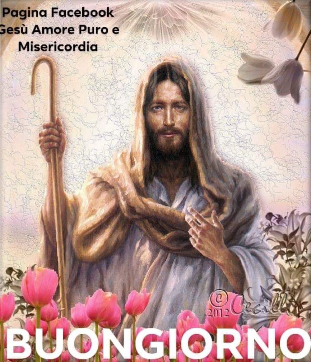 Buona Giornata con Gesù e icone sacre 4
