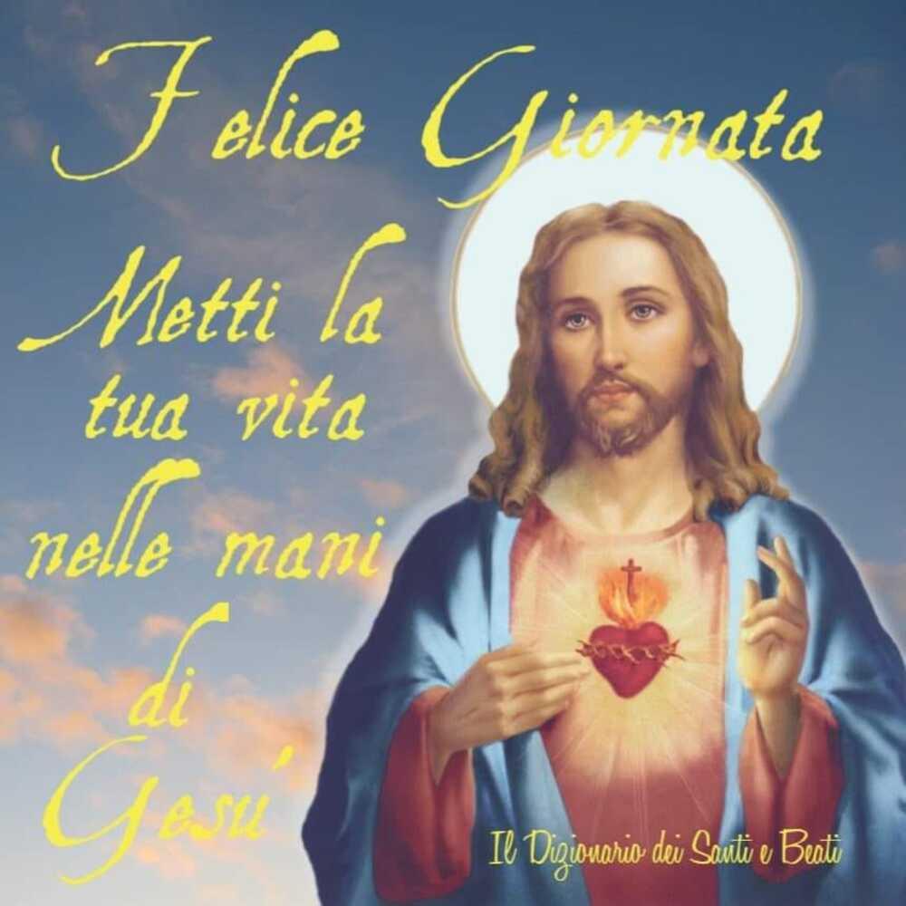 Buona Giornata con Gesù e icone sacre 8