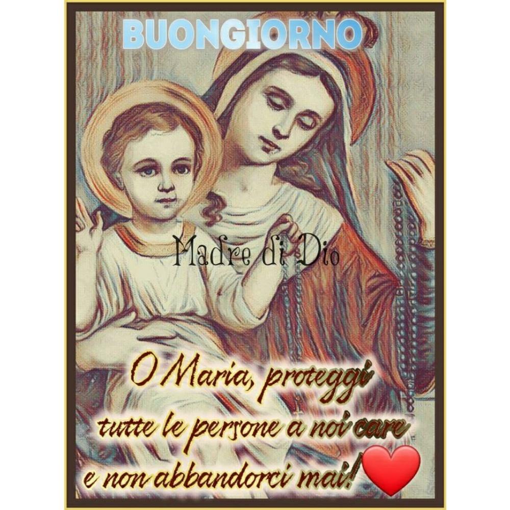 Immagini del Buongiorno con la Madonna (1)